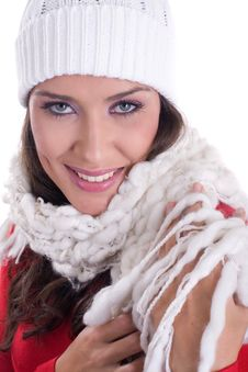 Free Winter Portrait Royalty Free Stock Photos - 3497578