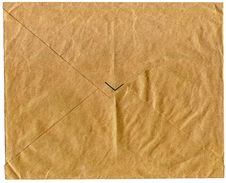 Free Vintage Old Letter Stock Image - 3497701