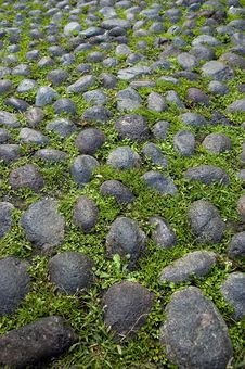 Paving Background Detail Stock Photo