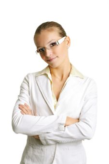 Free Successful Business Woman Royalty Free Stock Photography - 3498307