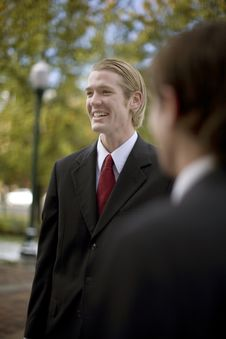 Business Laugh Royalty Free Stock Photos