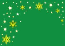 Free Snowflakes And Stars Royalty Free Stock Images - 3498999