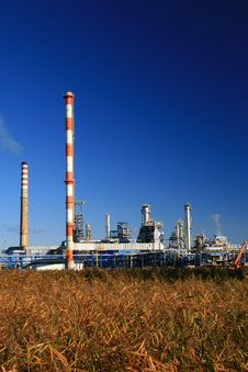 Free Oil Refinery Stock Photography - 3499542