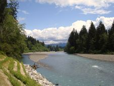 Free Hoh River Royalty Free Stock Photography - 3499707
