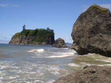 Free Ruby Beach Stock Photography - 3499732