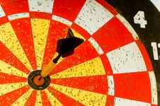Free Dartboard Royalty Free Stock Photo - 3499775
