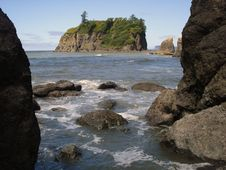 Free Ruby Beach Stock Image - 3499821