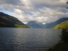 Lake Crescent Royalty Free Stock Images