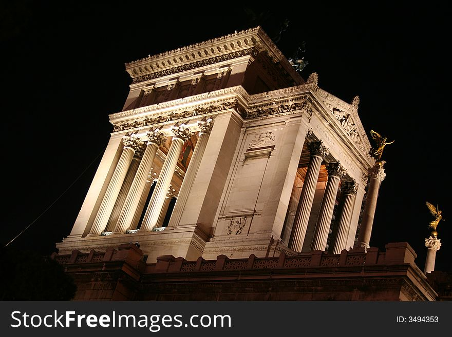 Temple Fatherland Altar Rome