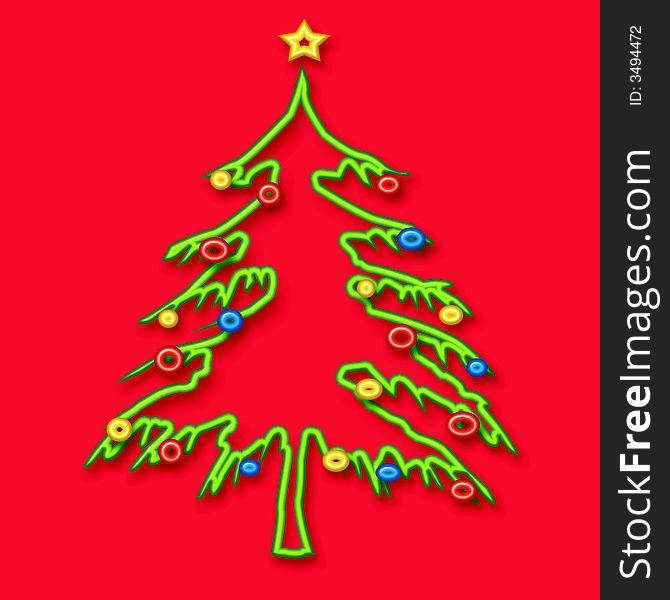 Christmas tree tubular