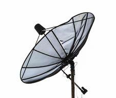 Free Satellite Dish Dilapidated Royalty Free Stock Photography - 34901857