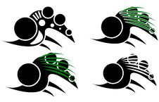 Free Tribal Bionic Tattoo Pack Royalty Free Stock Photos - 34903398