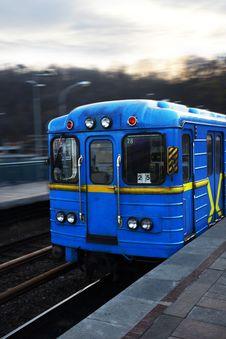 Free Metro Car In Kiev Stock Photography - 34903612