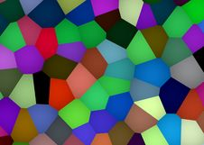 Free Abstract Multicolor Geometric Background Stock Photography - 34906082