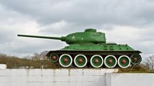 Free Tank T-34 Stock Photos - 34906643