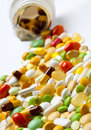 Free Many Colorful Medicines Stock Photos - 34917223