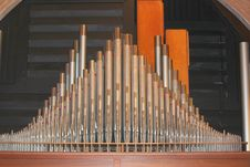 Free Organ Pipes Royalty Free Stock Photography - 34913177