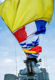Free Nautical Signal Flags Royalty Free Stock Photo - 34915705