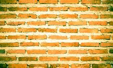 Free Brick Wall Royalty Free Stock Photo - 34918875