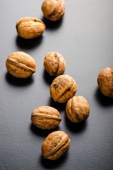 Free Walnuts Stock Image - 34919751