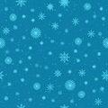 Free Snow Seamless Background Stock Photos - 34922803