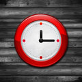 Free Red Watch. Clock Royalty Free Stock Photography - 34929727