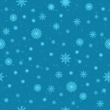 Free Snow Seamless Background Stock Photos - 34922803