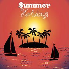 Free Summer Background Stock Image - 34924631
