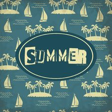 Free Summer Background Stock Photography - 34924882