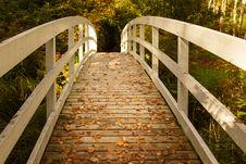 Free White Wooden Bridge Stock Photo - 34926940