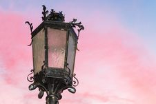 Free Old Stylish Lamp. Royalty Free Stock Photos - 34929438