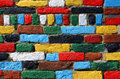 Free Multicolored Brick Wall Royalty Free Stock Photo - 34933085