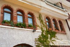 Style Of Contemporary Bulgarian Architecture Royalty Free Stock Images