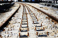 Free Railroad Ballast Bed Royalty Free Stock Images - 34946199