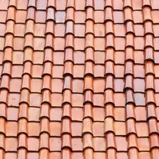 Free Roof Tile As Background Royalty Free Stock Images - 34942739
