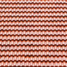 Free Roof Tile As Background Royalty Free Stock Photography - 34942917