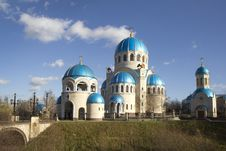 Russia. Moscow. Church Of The Holy Trinity. Royalty Free Stock Image