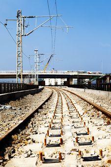 Free Railway Construction Site Stock Photo - 34946620