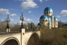 Russia. Moscow. Church Of The Holy Trinity. Royalty Free Stock Photos