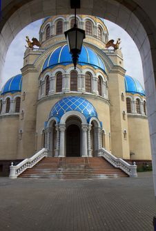 Russia. Moscow. Church Of The Holy Trinity. Royalty Free Stock Photography