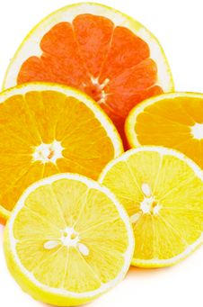 Free Citrus Halves Stock Image - 34949371