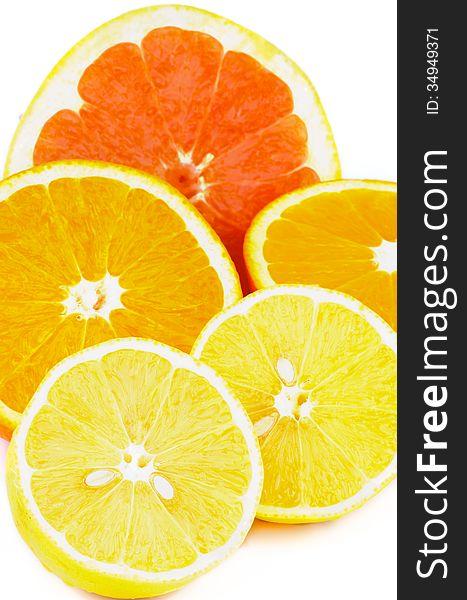 Citrus Halves