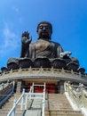 Free The Big Buddha Royalty Free Stock Photography - 34952797