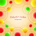 Free Abstract Background With Colorful Balls Royalty Free Stock Image - 34958976