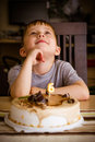 Free Boy In His Birthday Stock Images - 34959504