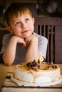 Free Boy In His Birthday Royalty Free Stock Image - 34959556