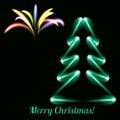Free Neon Tree Stock Images - 34959904
