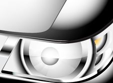 Free Close Up Car Headlight Stock Images - 34952804