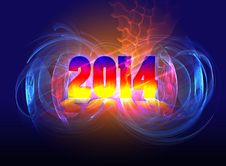 Free Arrival Of 2014 Royalty Free Stock Photos - 34956968