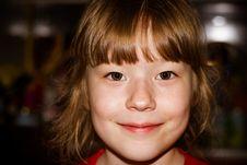 Free Portrait Lovely Little Girl Stock Photography - 34959432